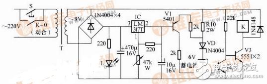 应急灯充电电路图大全(六款应急灯充电电路设计原理图详解)