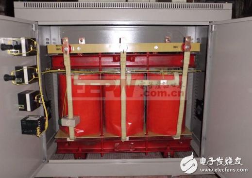 干式变压器工作原理与结构图解