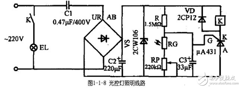 光声控灯电路图大全(八款光声控灯电路设计原理图详解)