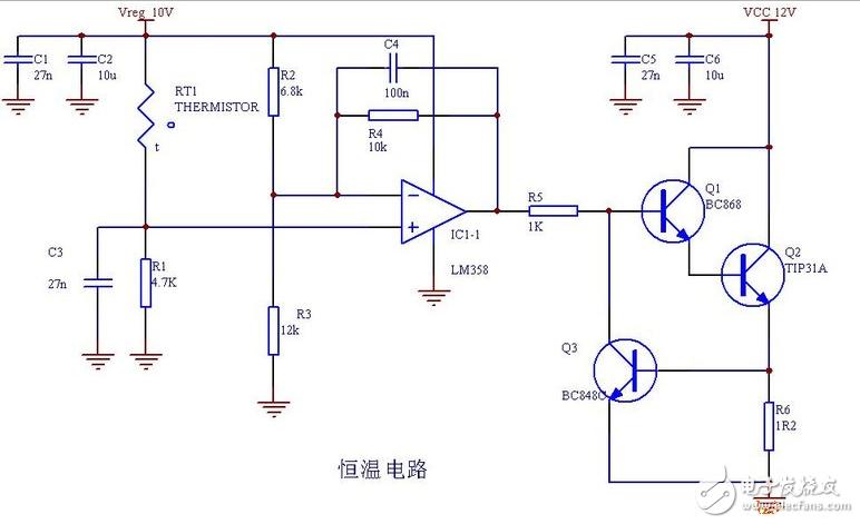 恒温晶振电路图大全(五款恒温晶振电路设计原理图详...