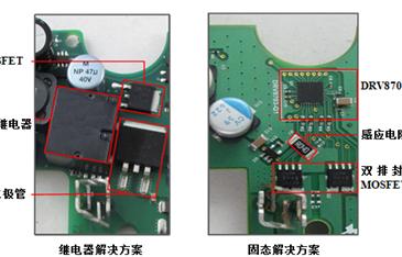 固态IC是汽车电机控制应用的最佳选择