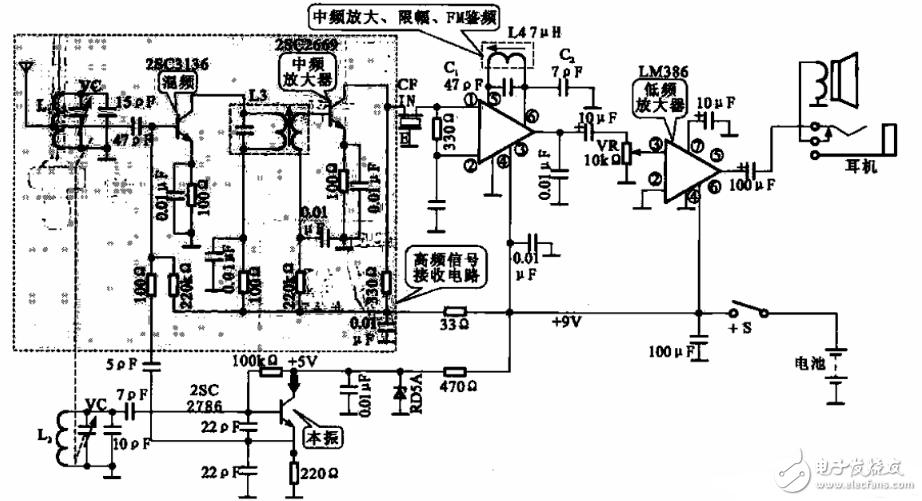 超外差收音机电路图大全 五款超外差收音机电路设计原理图详解 全文