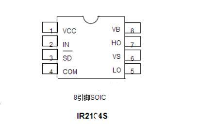 ir2104中文资料详细(ir2104引脚图_特点和技术参数及驱动电路)