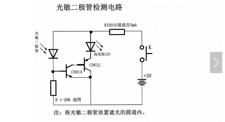 光敏二极管好坏如何检测及应用电路