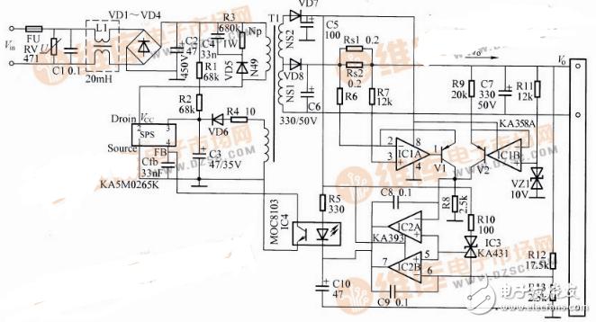 简单恒流充电电路图大全(八款简单恒流充电电路龙8国际娱乐网站原理图详解)