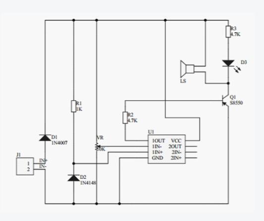 s8550引脚图与电路图汇总分析