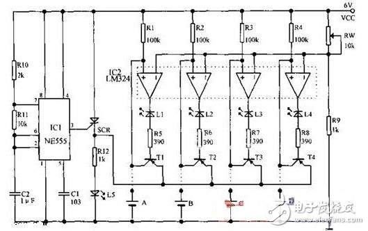 12v脉冲充电器电路图(五款12v脉冲充电器电路设计原理图详解)