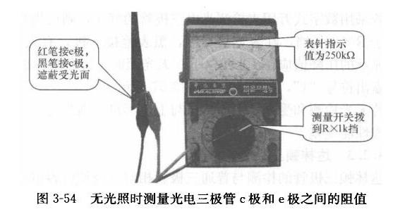 如何检测光电三极管