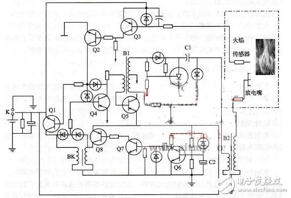 热水器脉冲电路图(五款热水器脉冲电路设计原理图详...