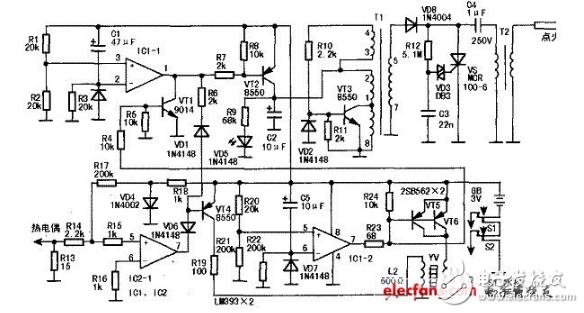 热水器脉冲电路图(五款热水器脉冲电路设计原理图详解)