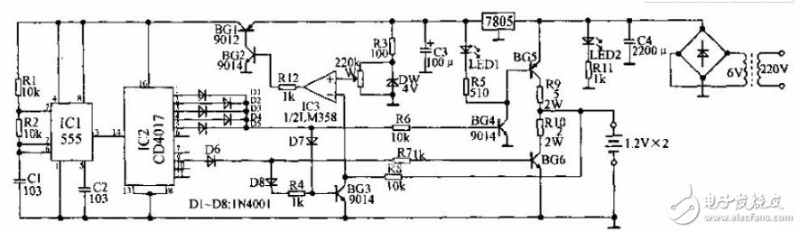 脉冲充电器电路图大全(八款脉冲充电器电路设计原理图详解)