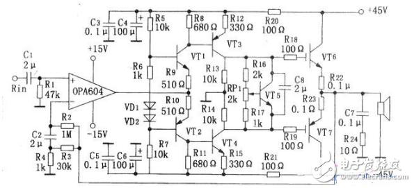 ocl功率放大器电路图大全(六款ocl功率放大器电路设计原理图详解)