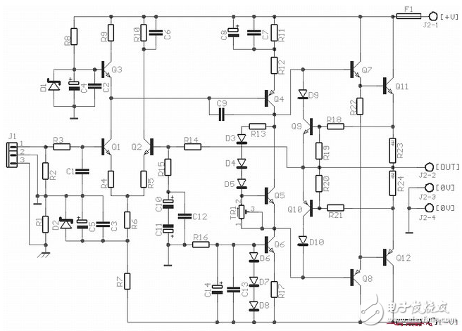 ocl功率放大器电路图大全(六款ocl功率放大器...