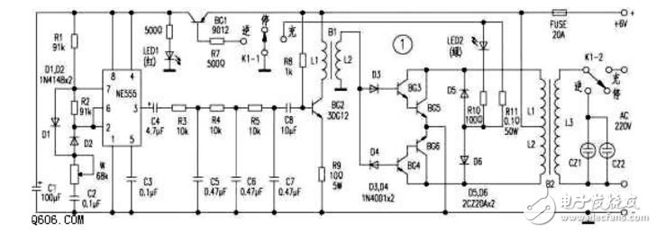 3dd15d逆变器电路图合集