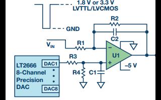 简单栅极脉冲驱动电路,最短时间开启或关闭RF源?