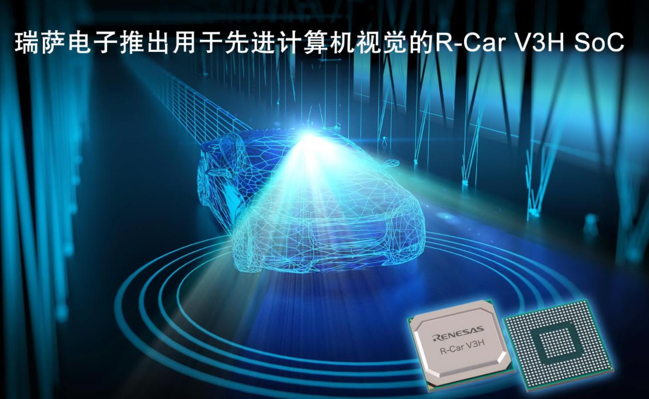 瑞萨电子推出用于3、4级自动驾驶汽车前视摄像头的...