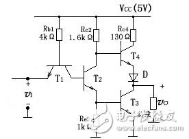 TTL反相器的基本电路(六款TTL反相器的基本电...