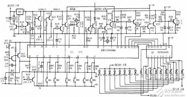 美的电磁炉电路图大全 六款美的电磁炉电路设计原理图详解 全文图片