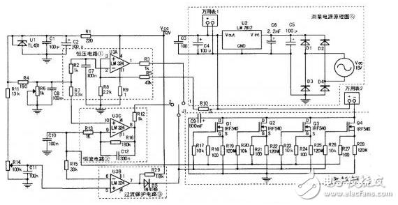 大功率电子负载电路图大全(四款大功率电子负载电路原理图详解)