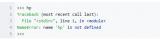 Python错误及异常总结汇总