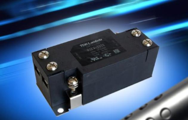 单相6A至30A EMC 滤波器提供简单的安装方...