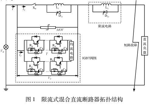 直流断路器拓扑模型的控制保护策略