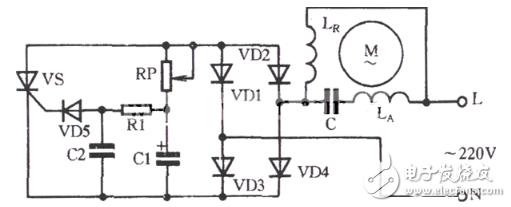 晶闸管调速电路图大全(包括LM324\晶闸管无级调光调速电路原理图)