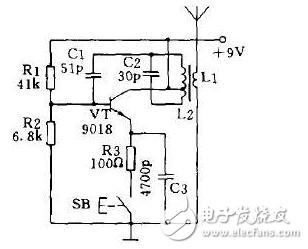 315m无线发射接收电路图大全(无线发射/无线接收电路图详解)