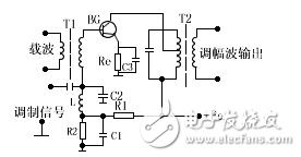 调幅发射机电路图大全(振幅调制/锁相环/晶体管发射机电路图详解)