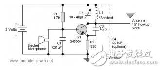 调频(FM)发射机电路图大全(调频收音机/调频中频/兆瓦无线电发射机电路图详解)