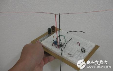 自制简易电磁波接收器