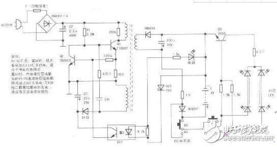 ?#24471;?#21488;灯维修电路图及原理分析