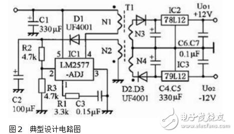 直流隔离电源电路图大全(DC/DC/变压销隔离/精密开关电源电路图)