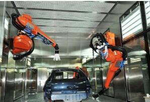 喷涂机器人的优点是什么_喷涂机器人比普通喷涂有什么优势