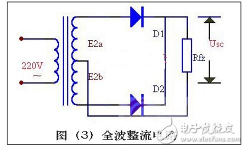 全波整流电路和桥式整流电路的特点与区别