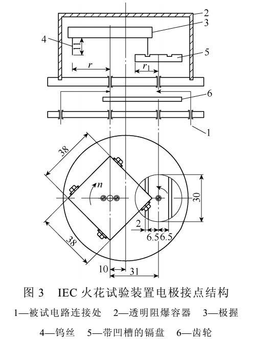 基于本质安全电感电路电弧放电时间分布
