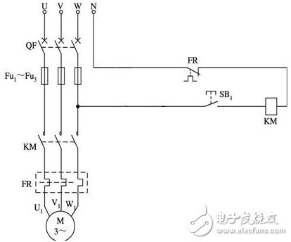 电动机点动控制线路 - 电动机点动控制电路图大全(六款按钮控制的电动