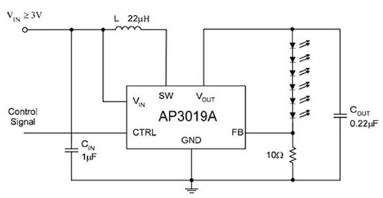 DC-DC升压转换器拓扑,专为便携式设备和可穿戴式设备应用开发考量