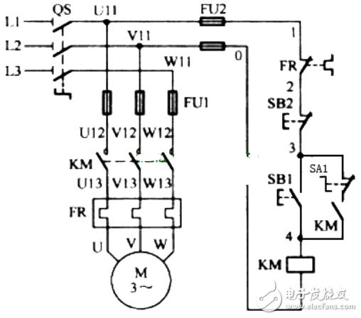 电动机自锁控制电路图大全(三相异步/自锁正转控制电路图详解) - 全文