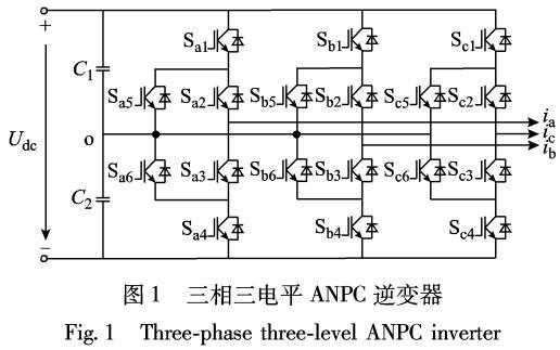 三电平有源中点钳位逆变器损耗分布平衡控制策略