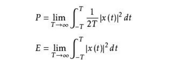 信号功率计算公式推导