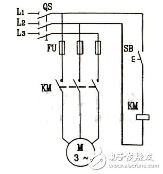 电动机点动控制电路图大全(六款按钮控制的电动机点动控制电路详解)