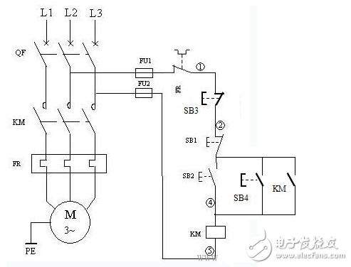 电动机启停控制电路图大全(多地控制/间歇式循环/...