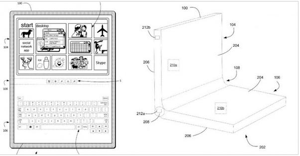 微软Surface居然可以折叠使用