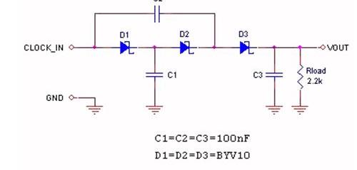 数字信号中提取能量改进型电荷泵