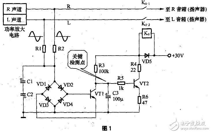 喇叭延时保护电路图大全(uPC1237扬声器/功放对管/集成式多功能型保护电路详解)