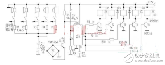 8050喇叭保护电路图大全(晶体管/桥式检拾型/双声道扬声器保护电路详解)