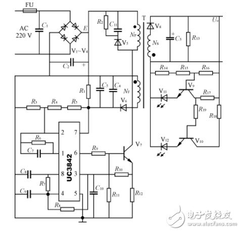 3842充电器电路图大全(UC3842/lm324/KA3842充电器电路详解)