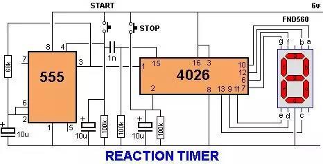 41个555定时器项目电路原理图