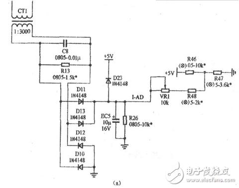 电磁炉电流采样电路图大全(电流互感器/全波整流/浪涌保护电路如图详解)